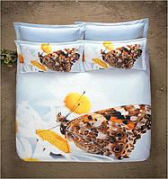 """Комплект постельного белья """"PERF. BUTTERFLY"""" двуспальный евро"""