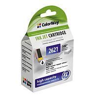 ColorWay Картридж CW (CW-EPT2621) Epson XP600/605/700 Black Pigment (аналог 26XL)
