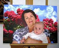 Печать картин и фото на холсте 300х400