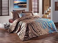 Комплект постельного белья SoundSleep Kahve Sal сатин Двуспальный евро комплект