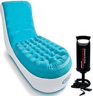Велюр-кресло-шезлонг Intex 68880