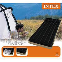 Надувной кемпинговый матрас Intex, 68798 односпальный (189*72*20 см)