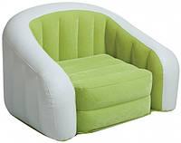 Детское велюровое кресло Intex 68597