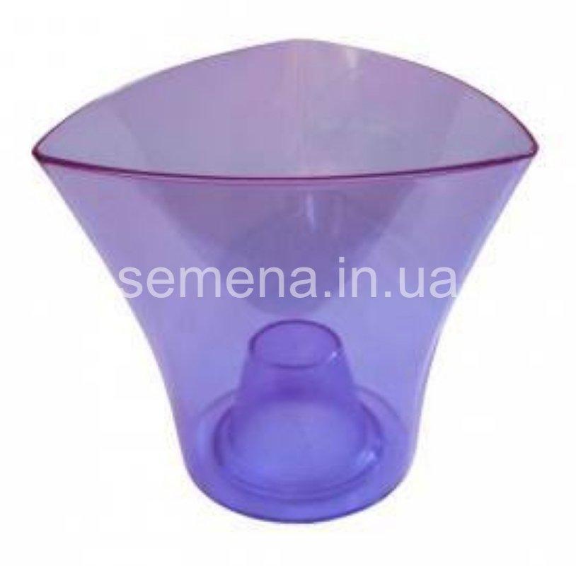 Кашпо Дельта фиолетовый 1 шт