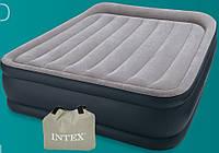 Надувная матраc - кровать Intex, 67736 без насоса (157*203*48 см)