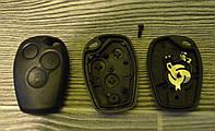 Корпус ключа Renault ,Nissan,Opel 3 кнопки