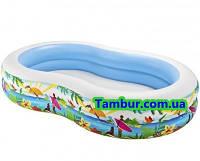 Детский надувной бассейн  INTEX (262 СМ Х 160 СМ Х 46 СМ)