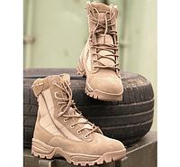 Ботинки тактические на 2х молниях койот