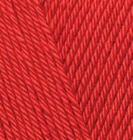 Пряжа для ручного вязания Alize DİVA (Ализе дива)   -106 красный