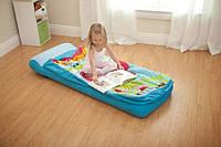 Детский надувной матрас Intex 66802 (64-152-20 см.) с насосом
