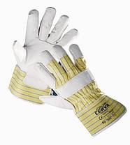 Перчатки кожаные комбинированные «Crow» код. 0101002099105