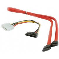 Gembird Кабель передачи данных CC-SATA SATA 48см + SATA питание 15см