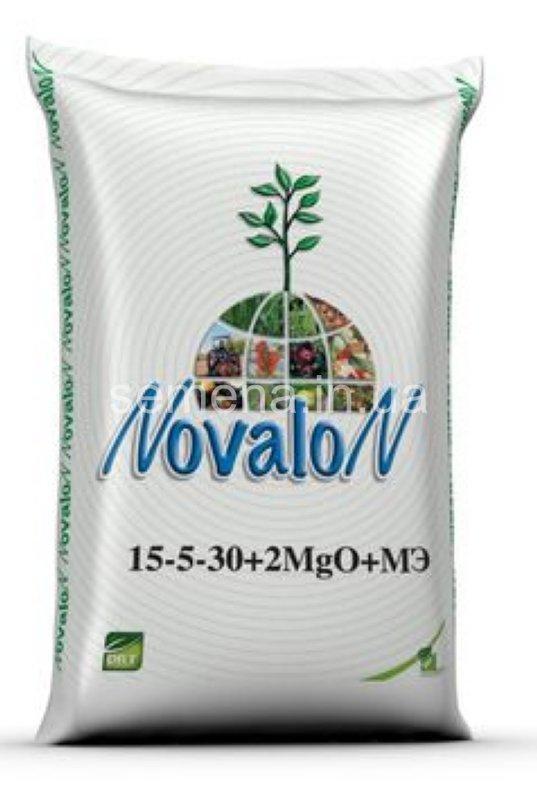 Новалон 15-5-30+2MgO+3S+МE  25 кг
