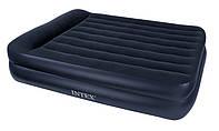 Надувная матраc - кровать Intex, 66720 полуторная (157*203*47 см)