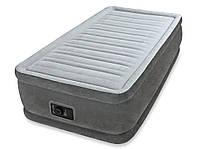 Надувная односпальная кровать Intex 64412 (99*191*46 см)