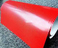 Пленка под карбон 6D красная Scorpio 1,52 м