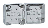 SVEN Корпус двухместный Storm SE-72002 для горизонтального монтажа серый