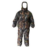 Зимний камуфляжный костюм охотника Зверобой с комбинезоном