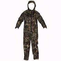 Зимний камуфляжный костюм охотника Пиксельный лес с комбинезоном