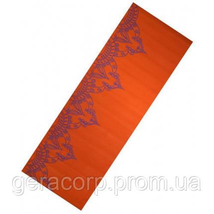 Коврик для йоги PVC WITH PRINT LS3231c-06o, фото 2