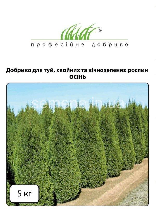Удобрение для туй, хвойных и вечнозеленых растений ОСЕНЬ  5 кг