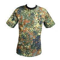 Камуфляжная футболка Flecktarn