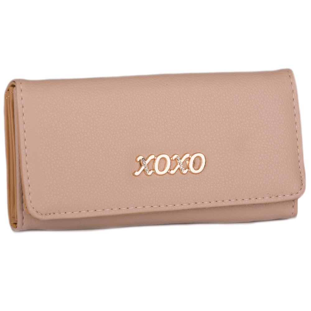 Стильный женский кошелек D001 chocolate