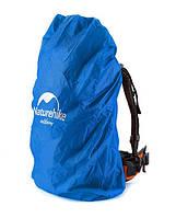 Накидка на рюкзак M (30-50 л) синий, фото 1