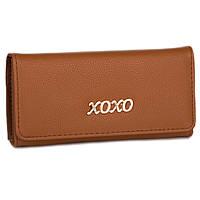 Стильный женский кошелек D001 brown, фото 1