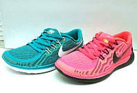 Кроссовки женские/подростковые Nike летние верх: сетка, текстиль Ni0149