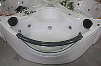 Ванна угловая гидромассажная 1520*1520*710 с пневмокнопкой, APPOLLO АТ-2121