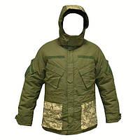 Куртка горная с меховой подстежкой олива/ММ-14