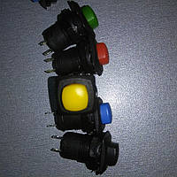 Кнопка Lemanso LSW11 квадрат красная без фикс.OFF-(ON)/ DS-225