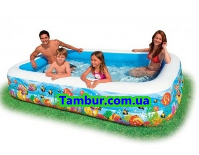 Детский надувной бассейн INTEX (305 СМ Х 183 СМ Х 56 СМ)