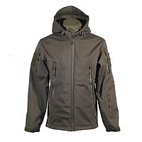 Куртка софтшелл Chameleon с капюшоном олива