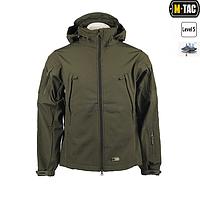 Куртка софтшелл M-Tac олива