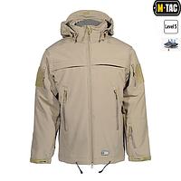 Куртка софтшелл M-Tac Полиция Tan