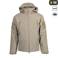 Куртка софтшелл M-Tac с подстежкой Tan