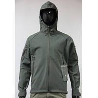Куртка тактическая Softshell Camo-tec olive