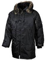 Куртка черная зимняя MFH