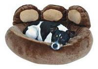 Trixie - Donatello Лежак для собаки для собак, коричневый-беж, 60х50см