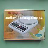 Весы кухонные электронные, до 7 кг, фото 3