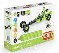 Конструктор Engino серии STEM HEROES Спортивные автомобили: драгстер