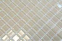 Бежевая мозаика прозрачная на сетке Vivacer B051