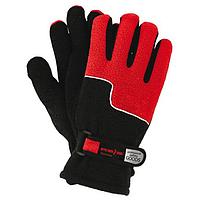 Перчатки спортивные зимние REIS красные с чёрным