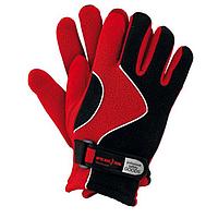 Перчатки спортивные зимние REIS чёрно-красные