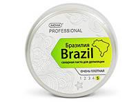 """Сахарная паста для шугаринга """"Бразилия"""" АЮНА, очень плотная, 300 г."""