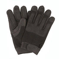 Перчатки тактические чёрные Mil-Tec