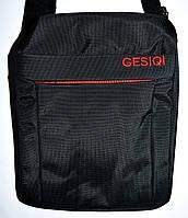 Мужская текстильная барсетка Gesiqi (вертикальная)