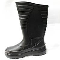 Резиновые сапоги мужские черные «Лесник»